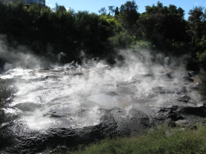 Hot Mud Pools